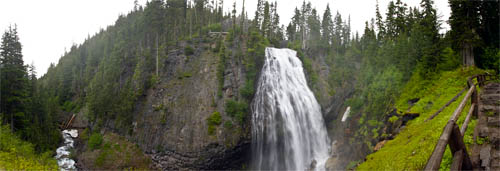 narada falls on the paradise river