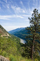 fraser canyon above boston bar