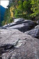 beach rocks at chillwack lake