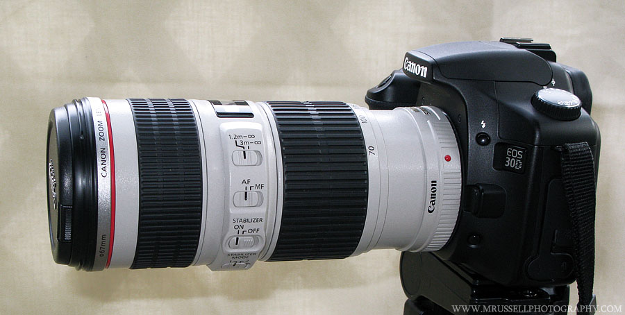 Canon Zoom Lens 70-200 Canon ef 70-200 F/4l is