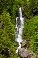 ketchum creek falls in north cascades national park