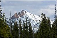 cutthroat peak in north cascades national park