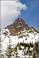 whister mountain in north cascades national park