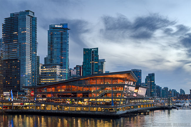 vancouver trade and convention center and coal harbour