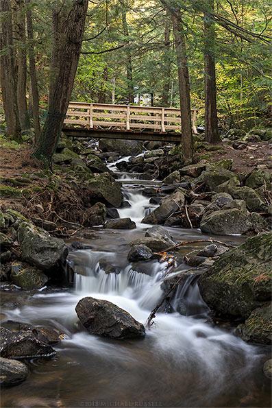 fortune creek in gatineau park