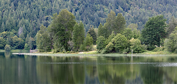 saint mary lake on salt spring island