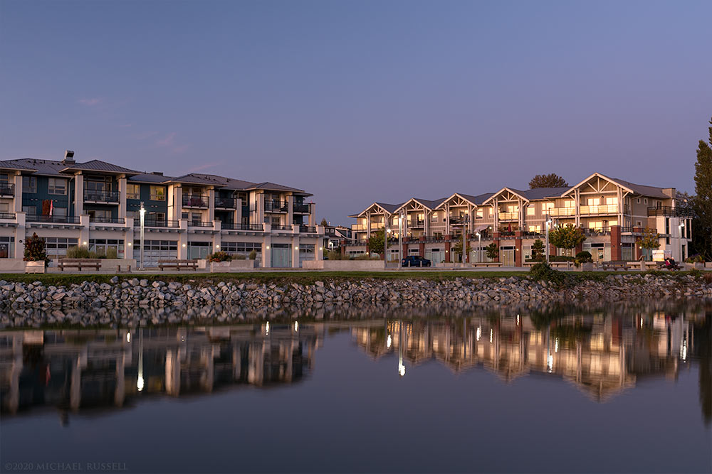 waterfront condos in steveston