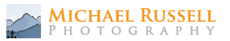 mrussell photography logo