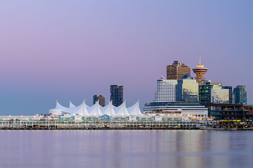 canada place vancouver belt of venus sky