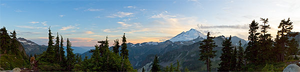 mt baker from artist point