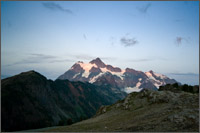 mt shuksan from artist point