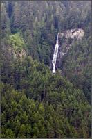 waterfall at hells gate tram