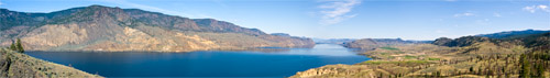 kamloops lake panorama