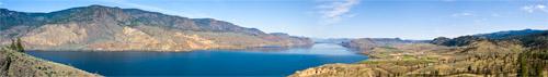 kamloops lake panorama