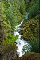 wells creek at nooksack falls