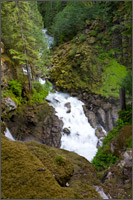 wells creek at nooksack falls