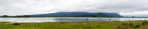 pitt river panorama