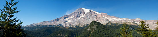 mt rainier from ricksecker point