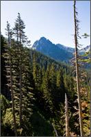 lane peak at the western end of the tatoosh range
