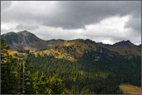 sourdough ridge from sunrise point dege peak