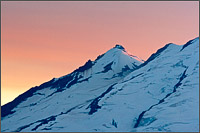 sherman peak on mt baker