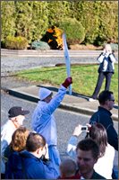 aldergrove olympic torch run begins