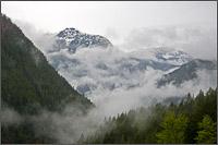 mt mcconnell storm clouds manning provincial park