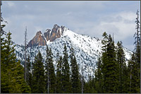 cutthroat peak in north cascades national park