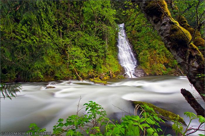 eureka falls silverhope creek
