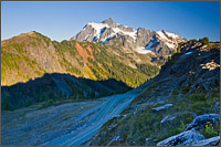 mount shuksan above sr 542