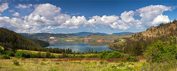 kalamalka lake provincial park panorama