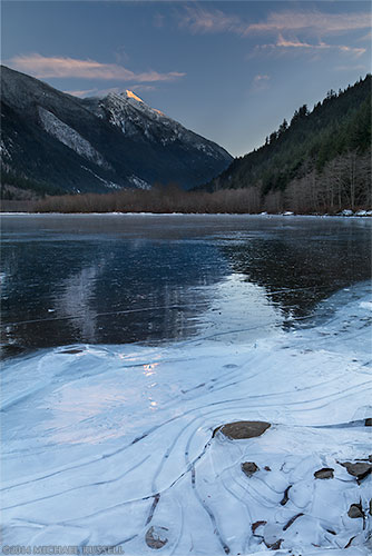 frozen silver lake provincial park and mount grant