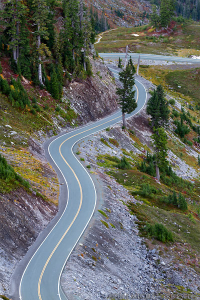 winding mount baker highway