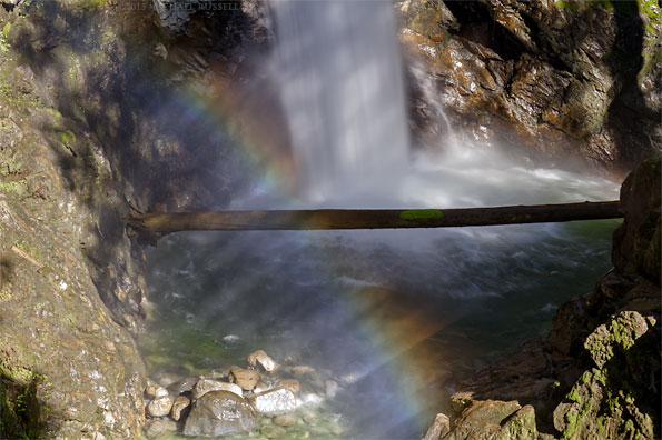 cascade falls in cascade falls regional park