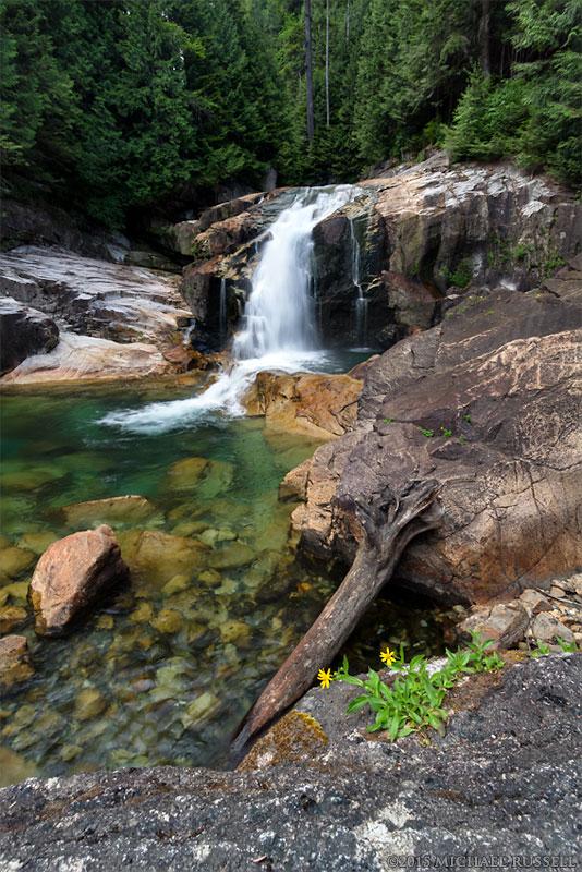 lower falls trail in golden ears provincial park michael. Black Bedroom Furniture Sets. Home Design Ideas