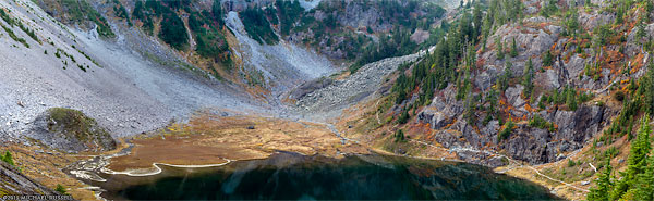 bagley lakes fall panorama