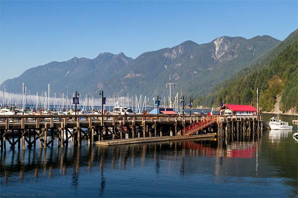 horseshoe bay public dock at horseshoe bay