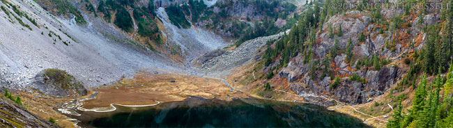 top 10 photos - bagley lakes panorama fall