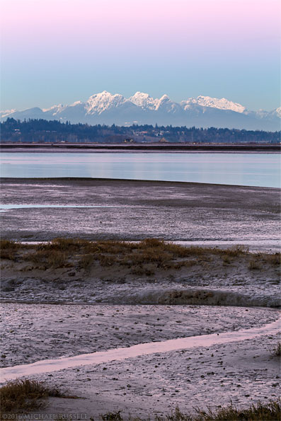 belt of venus golden ears from crescent beach