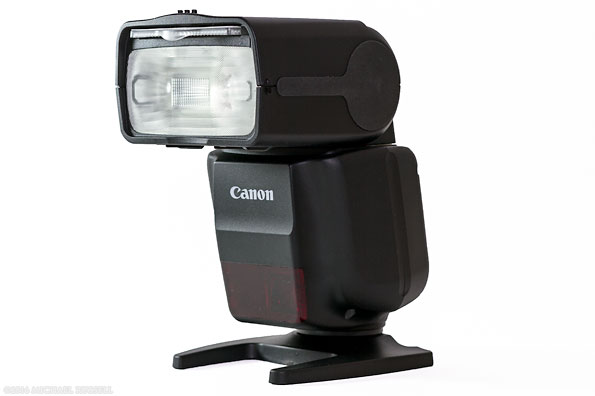 canon speedlite 430EX III-RT flash front