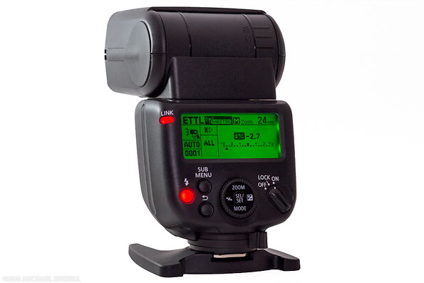 canon speedlite 430EX III-RT flash back