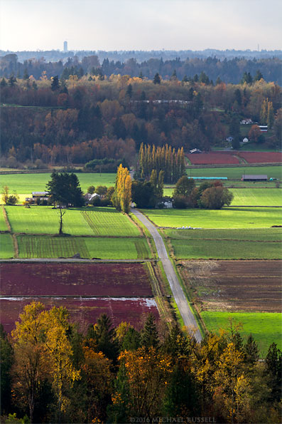 view of glen valley farms in abbotsford and langley